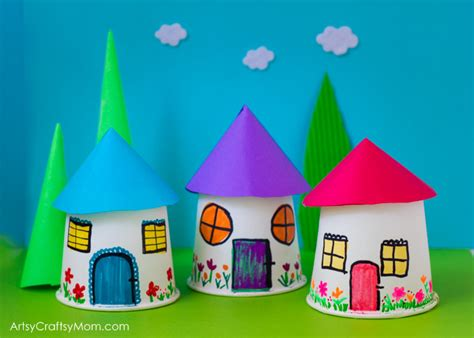 paper cup crafts for paper cup miniature craft artsy craftsy