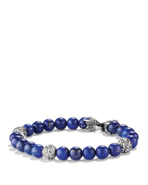 david yurman bead bracelet david yurman spiritual bracelet with lapis lazuli in