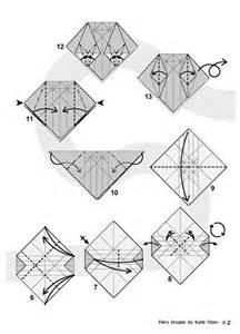 origami telescope fiery diagram 2 of 8 paper origami paper