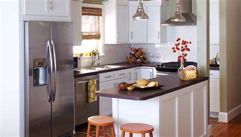 designs for small kitchens on a budget small budget kitchen makeover ideas