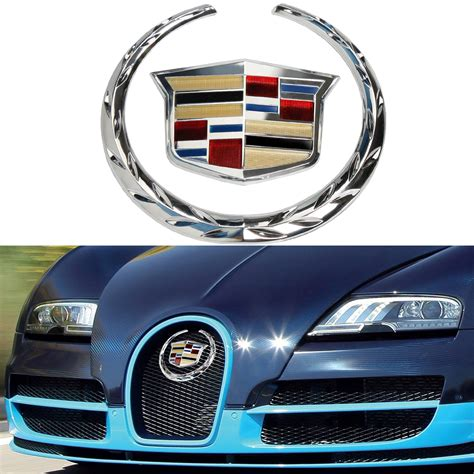 Cadillac Badge by Cadillac Car Front Grille Wreath Crest Emblem Badge 5 75