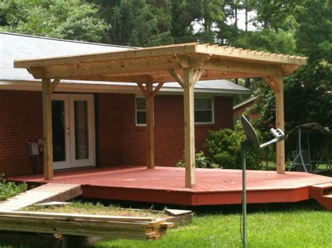 how to build a pergola on an existing deck pergola existing deck