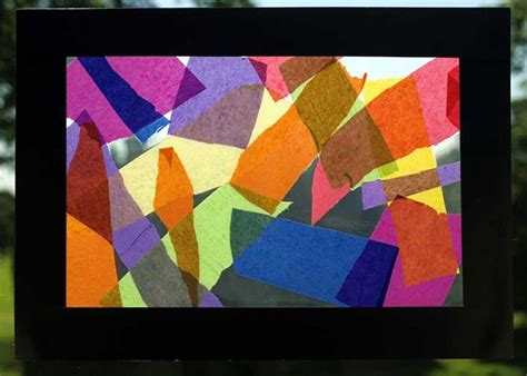 tissue paper stained glass craft 10 best handmade gifts for