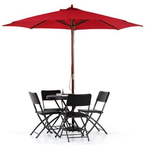 wooden patio umbrella ikayaa 3m wooden patio garden outdoor umbrella