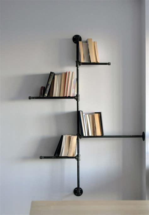 unique shelves interesting wall shelves with unique black metal