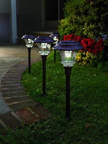 best outdoor solar path lights best outdoor solar powered pathway lights top 10 reviews