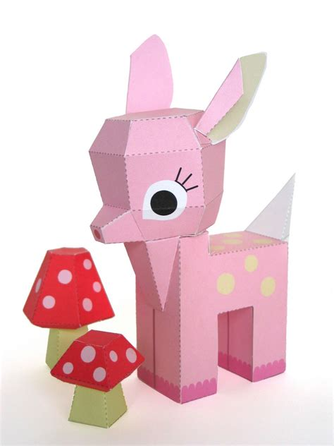 free paper crafts craft tutorials handmade toys printable crafts