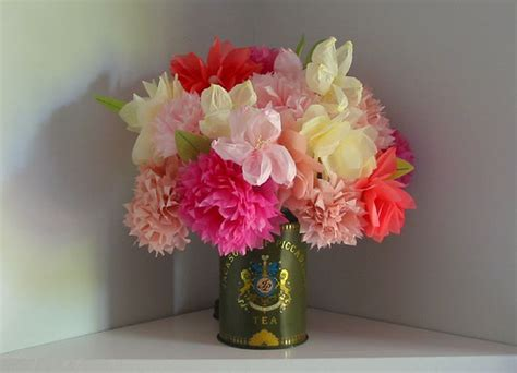 martha stewart crafts paper flowers martha stewart tissue paper flowers flickr photo