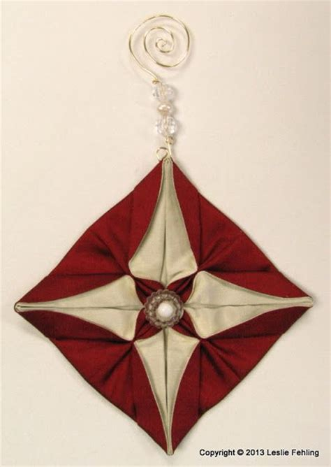 fabric origami ornaments 17 best images about cucito creativo moduli giapponesi