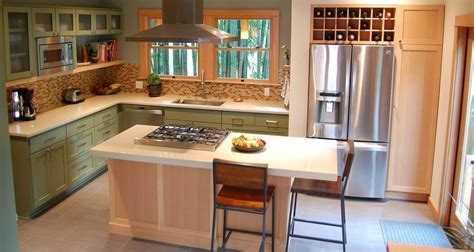 How To Build Kitchen Cabinet where would you place the fridge in your home