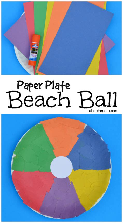 craft work with paper plate paper plate craft about a