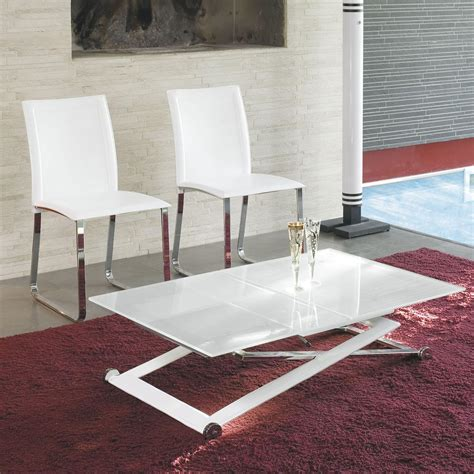 adjustable coffee table to dining table height adjustable coffee table expandable into dining