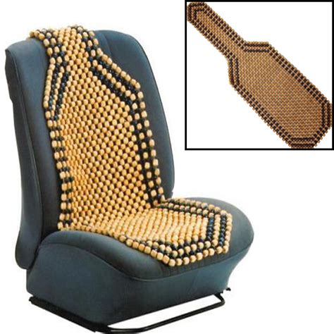 bead seat covers wooden bead beaded car taxi front seat cover cushion