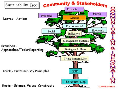 why tree ecosteps sustainability answers 1 why do