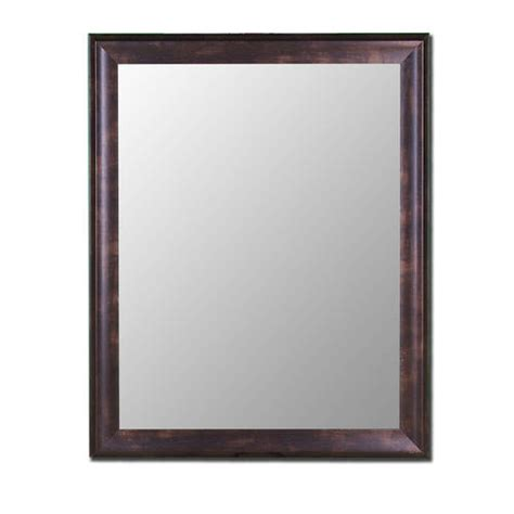 menards bathroom mirrors hitchcock butterfield 30 quot x 42 quot espresso walnut framed