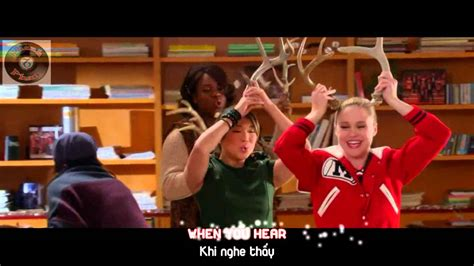 glee rockin around the tree lyrics lyrics vietsub glee performance of quot rockin