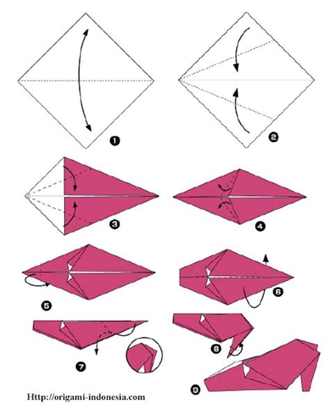 origami shoe diagram klub origami indonesiacategory part 4