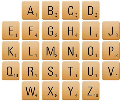 scrabble using all letters