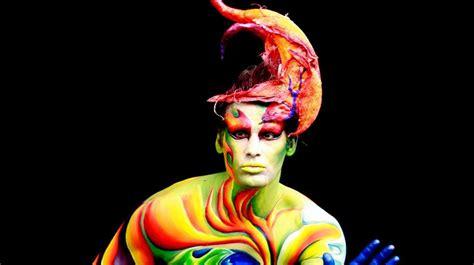 swiss painting festival lugano ticino weekend swiss bodypainting festival in lugano