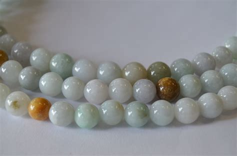 bead world palatine jade 8mm rounds colors smooth and 16 quot strand