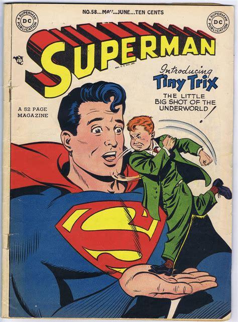 superman comic book pictures superman 58 comic book comics watcher