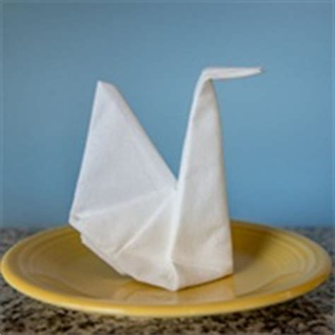 origami napkin swan related keywords suggestions for swan napkin