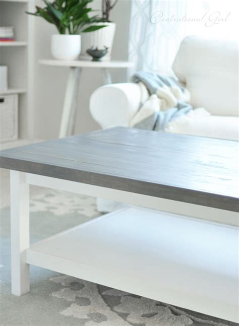 weathered grey coffee table weathered gray coffee table centsational