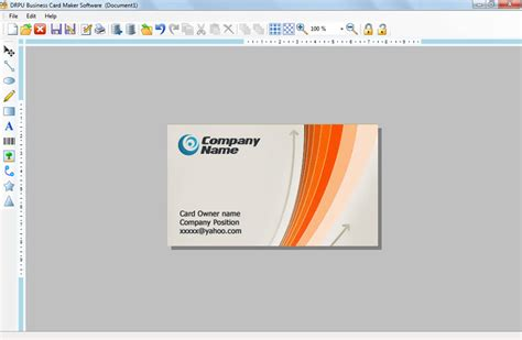 software for business cards business card design software make discount visiting