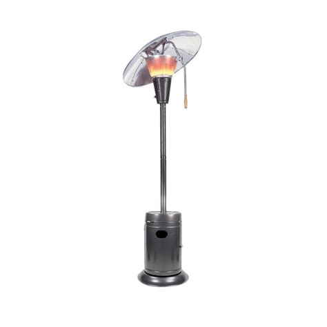 heat focusing patio heater mirage 38 200 btu slate heat focusing gas patio heater