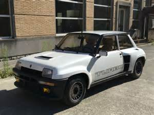 Renault R5 For Sale by Renault R5 Turbo Ii Fully Restored For Sale Photos