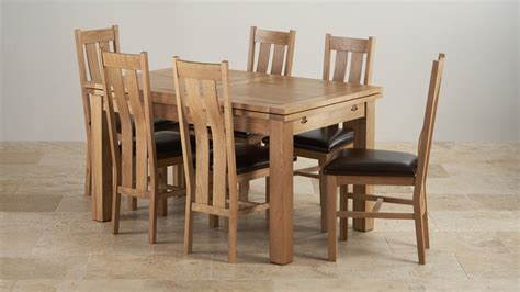 set of dining table and chairs 5ft dining table sets oak furniture land