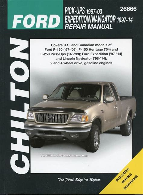 free car repair manuals 2003 ford expedition electronic throttle control ford f150 f250 expedition lincoln navigator repair manual 1997 2014