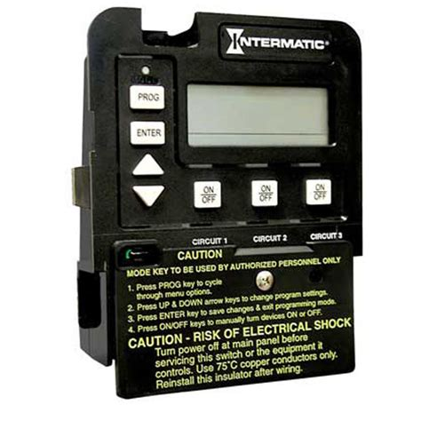 intermatic timer intermatic p1353me pool spa 3 circuit clock
