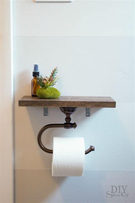 Bathroom Gift Ideas toilet paper holder shelf and bathroom accessoriesdiy show