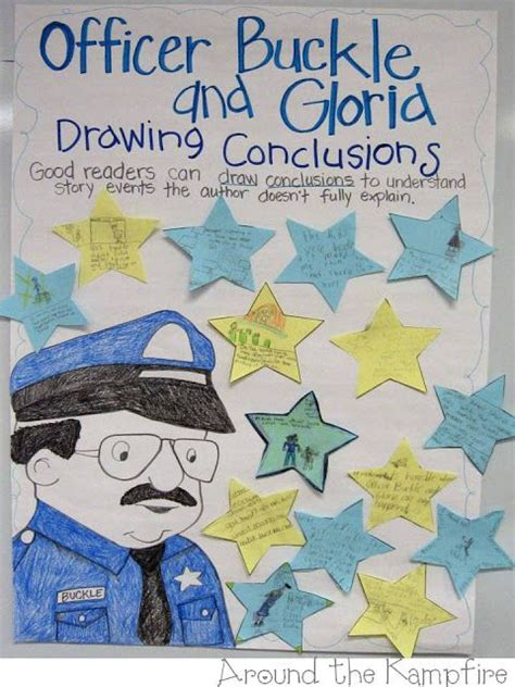 picture books for drawing conclusions officer buckle and gloria reading