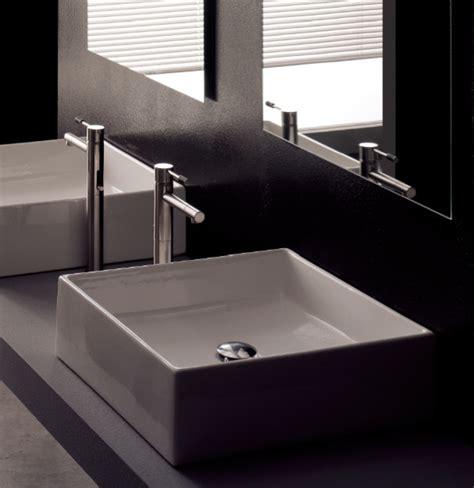 bathroom sinks modern modern square white ceramic bathroom vessel sink modern