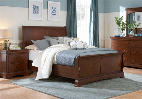 sleigh bedroom furniture sets broyhill rhone manor sleigh bedroom set