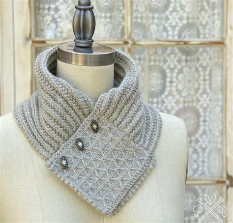 ascot scarf knitting pattern quilted lattice ascot kit none knit one felt