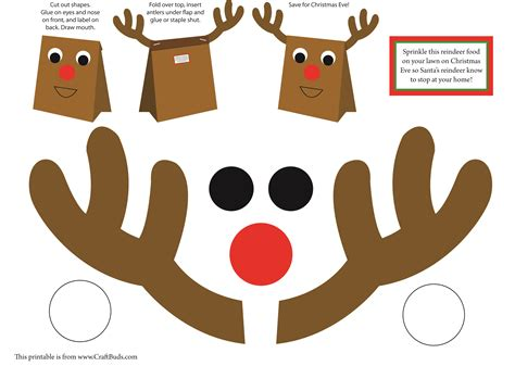 print out paper crafts december 2012 craft buds
