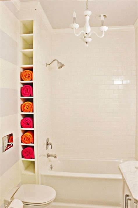 storage ideas small bathroom diy bathtub surround storage ideas hative