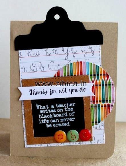 card ideas for teachers best 25 handmade teachers day cards ideas on