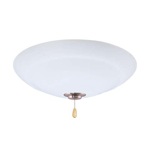 emerson ceiling fans lk180ledbs brushed steel led