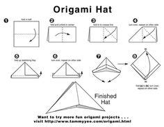 how to make an origami sailor hat le catalogue d id 233 es