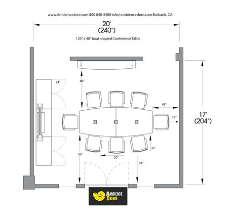 conference room planning guide ambience dor 233