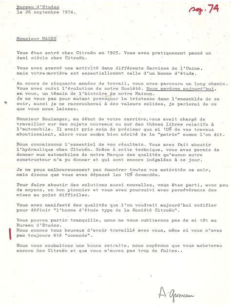 1974 discours de monsieur grosseau lors du d 233 part 224 la retraite de paul mages paul mag 232 s