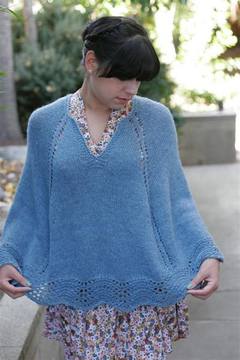 child s poncho knitting pattern quot baby it s cold outside quot poncho by amanda rios craftsy