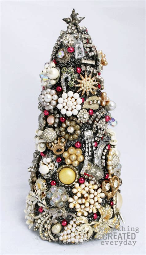 how to make a vintage jewelry tree something created everyday vintage jewelry tree