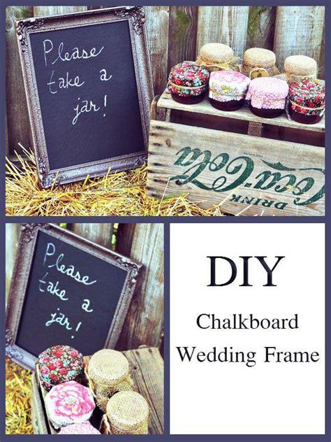 diy chalkboard frame wedding diy diy chalkboard wedding frame 2068375 weddbook