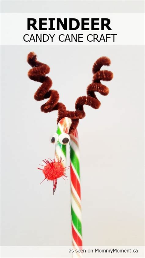 crafts with canes 1000 ideas about reindeer on