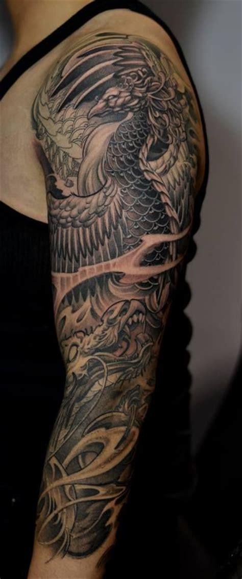 25 beautiful dragon sleeve tattoos ideas on pinterest